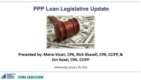 New PPP Legislation in the Stimulus Bill: More Loans, Changes to Rules, and Recent Guidance – What the Contractor Needs to Know icon