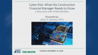 Cyber Risk: What Every Construction Financial Manager Needs to Know icon