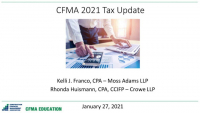2021 Construction Tax Update icon