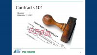 Contracts 101 - Day 1 icon