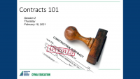 Contracts 101 - Day 2 icon