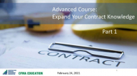 Expand Your Construction Contract Knowledge - Day 1 icon