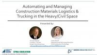 Material Management and Trucking: The State of Automation in Heavy/Civil Construction icon