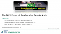 Benchmarker Results Are In icon