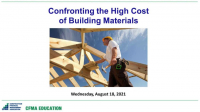 Confronting the High Cost of Building Materials icon