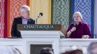 Judy Shepard in conversation with James Fallows • Interfaith Lecture Series
