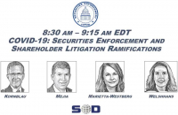 COVID-19: Securities Enforcement and Shareholder Litigation Ramifications icon