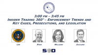 Insider Trading 360° – Enforcement Trends and Key Cases, Prosecutions, and Legislation icon
