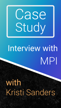 Case Study: Interview with Kristi Sanders of MPI icon
