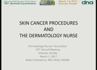 Skin Cancer Procedures and the Dermatology Nurse icon