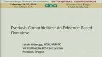 Psoriasis Comorbidities:  An Evidence-Based Overview icon