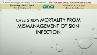 Case Study: Mortality from Mis-Management of Skin Infection icon