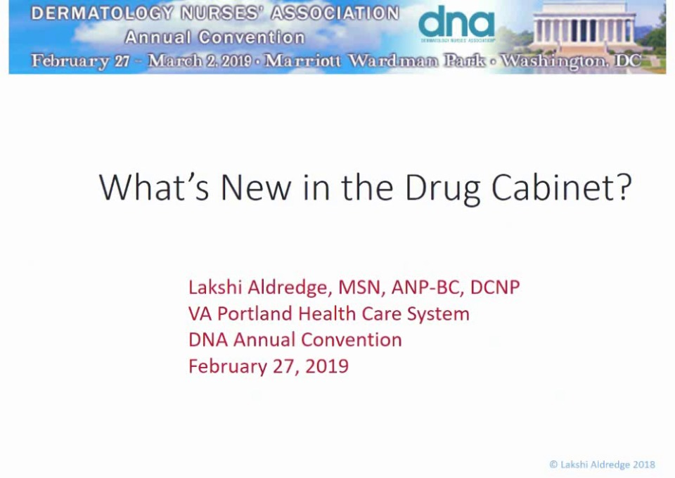 What's New in the Drug Cabinet? icon