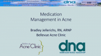 Medication Management in Acne icon