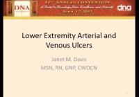Lower Extremity Arterial and Venous Ulcers icon