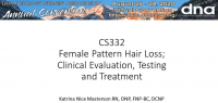 Female Pattern Hair Loss (FPHL): Clinical Evaluation, Testing, and Treatment icon