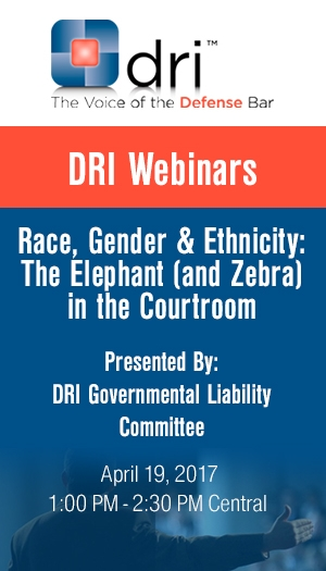 Race, Gender & Ethnicity: The Elephant (and Zebra) in the Courtroom - Non-Members Package