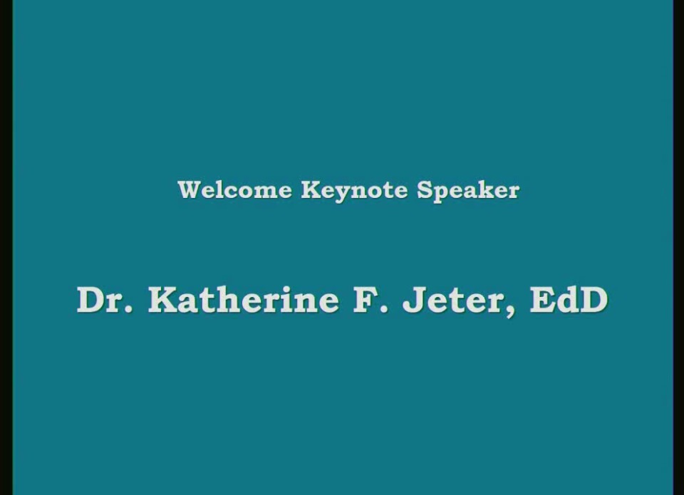 Keynote Address - EXERCISE: The Elixir for Old Age