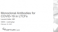 Monoclonal Antibodies for COVID-19 in Long-Term Care Facilities icon