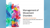 Management of Movement Disorders icon