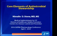 Core Elements of Antimicrobial Stewardship