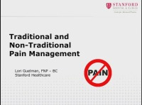 Traditional and Non-Traditional Pain Management