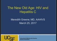 The New Old Age: HIV and Hepatitis C