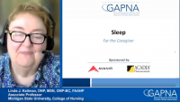 Sleep - for the Caregiver icon