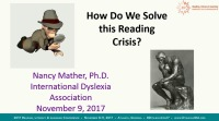 How Do We Solve This Reading Crisis? icon