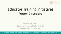IDA Educator Training Initiatives: Future Directions in Standards-Based Accreditation and Certification Practices icon