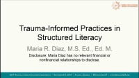Trauma-Informed Practices in Structured Literacy icon