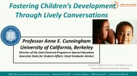 Fostering Childrens Language Development Through Lively Conversations With Text icon