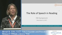 The Role of Speech in Reading  icon