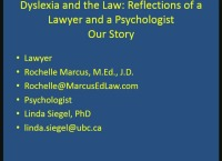 The Law and Dyslexia: Reflections of a Psychologist and a Lawyer icon