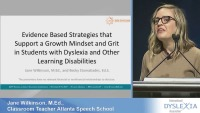 Evidence-Based Strategies that Support a Growth Mindset and Grit in Students With Dyslexia and Other Learning Disabilities icon