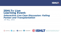 Interactive Live Case Discussion: Failing Fontan and Transplantation icon