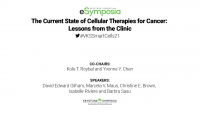 The Current State of Cellular Therapies for Cancer: Lessons from the Clinic icon