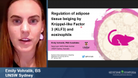 Short Talk: Regulation of Adipose Tissue Beiging by Krüppel-Like Factor 3 (KLF3) and Eosinophils icon
