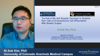 Short Talk: The Role of Bile Acid Receptor Expressed in Intestinal Stem Cells on Enteroendocrine Cell Differentiation after Bariatric Surgery icon