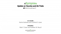 Update on Vaccine and Ab Trials icon