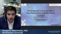 Short Talk: Characterizing Mechanisms Controlling Aberrant Spliceosome Levels and Its Impact on Therapy Response in Acute Lymphoblastic Leukemia icon