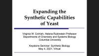 Expanding the Synthetic Capabilities of Yeast icon
