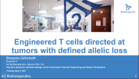 Short Talk: Engineered T Cells Directed at Tumors with Defined Allelic Loss icon