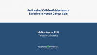 An unveiled Cell-Death Mechanism Exclusive to Human Cancer Cells icon
