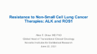 Resistance to Non-Small Cell Lung Cancer Therapies icon
