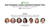 ePanel   Brain Therapeutics: Lessons Learned from Pandemic Times icon