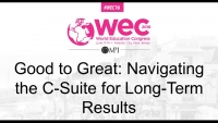 Good to Great: Navigating the C-Suite for Long-Term Results
