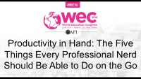 Productivity in Hand: The Five Things Every Professional Nerd Should Be Able to Do on the Go