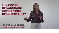 The Power of Language During Times of Uncertainty  icon