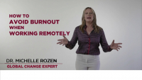 How to Avoid Burnout When Working Remotely icon